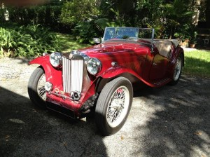 Tom G's 1949 MG-TC